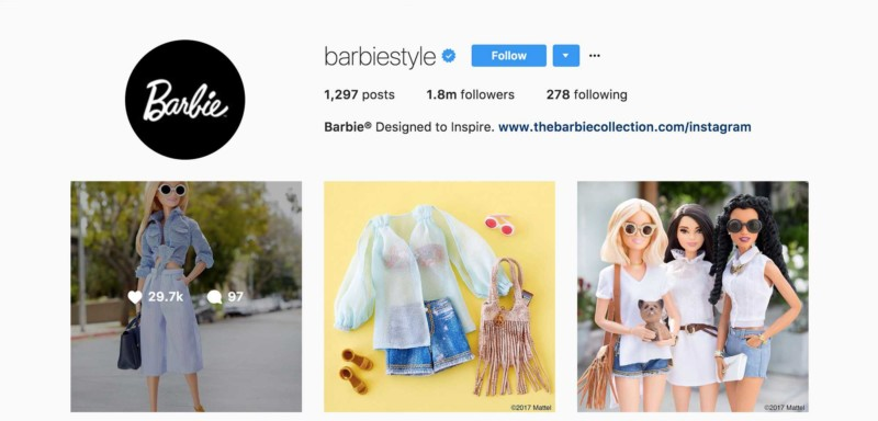 I am a Barbie Girl in an influencer world, life in plastic is fantastic
